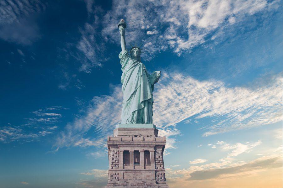 Statua Wolności na wyspie Liberty Island
