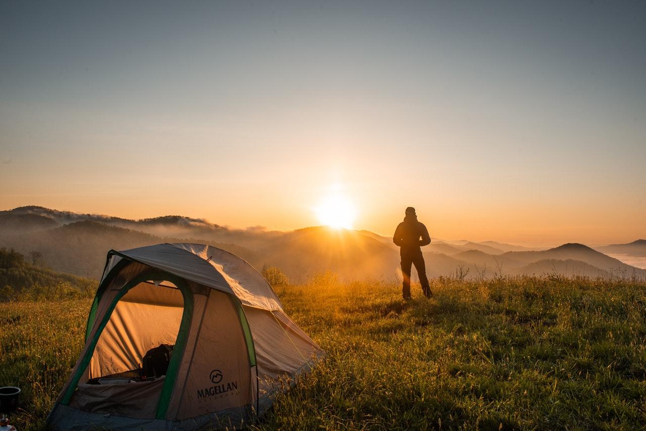 wyjazd pod namiot